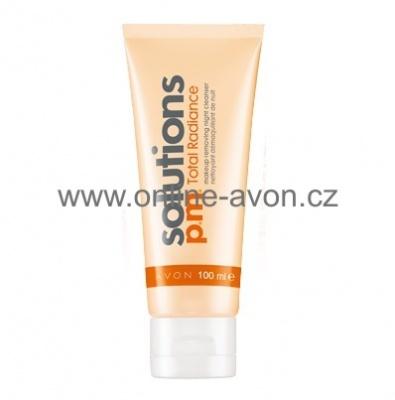 Noční rozjasňující gel pro odstranění make-upu